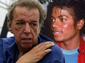 Rod Temperton with Michael Jackson.