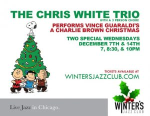 "CHRIS WHITE ""Reprises"" A Charlie Brown Christmas"" full album with choir @ Winter's Jazz Club 