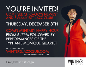 Typhanie Monique at Winter's Jazz Club @ Winter's Jazz Club | Chicago | Illinois | United States