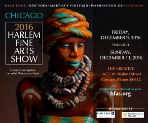 2016 Harlem Fine Arts Show @ LIFE CREATIVE | Chicago | Illinois | United States