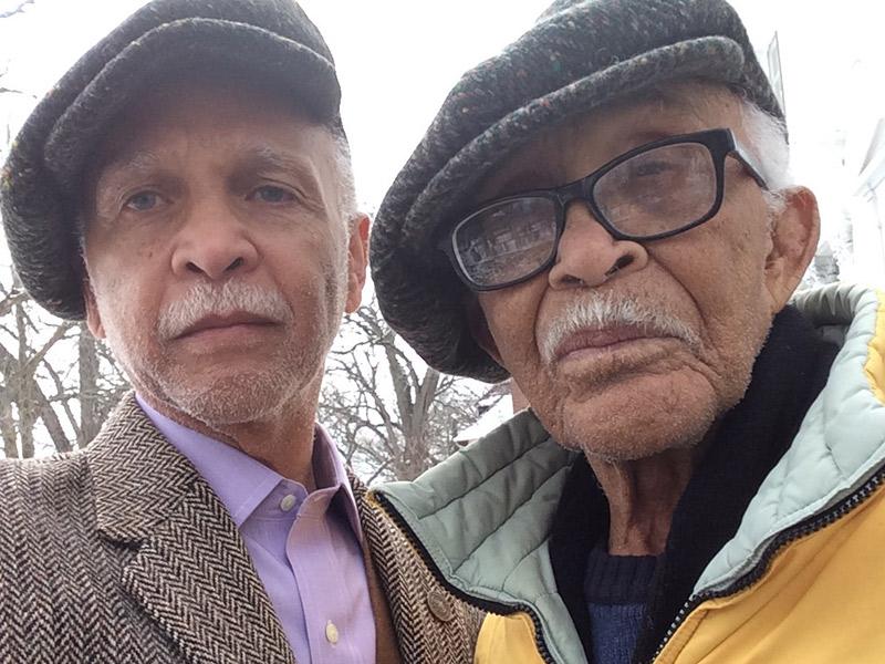 Pops and Dr. Wayne Watson