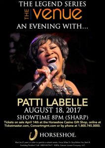 An Evening with Patti Labelle! @ The Venue